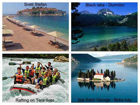 Attractions in Montenegro
