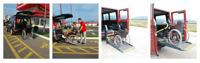 Transport disabled persons Podgorica Montenegro